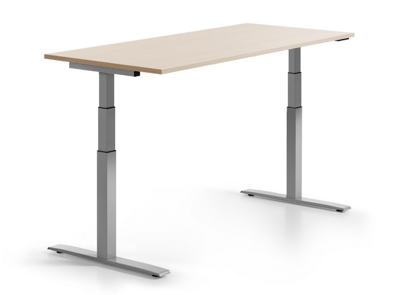 Höhenverstellbarer Schreibtisch 160x80 cm | JourTym Büromöbel