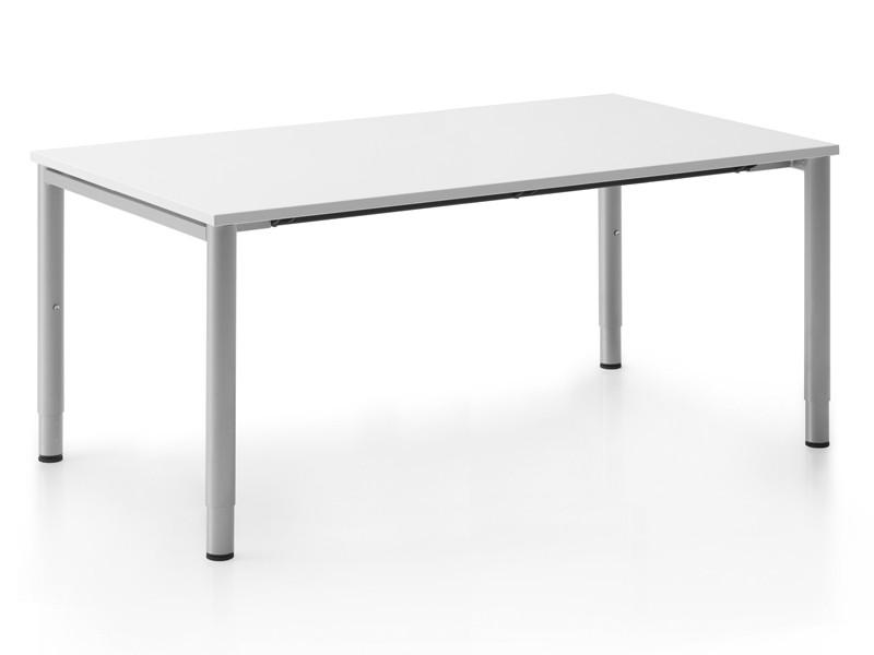 Höhenverstellbarer Schreibtisch Weiß Rohde Grahl Xio Jourtym Büromöbel