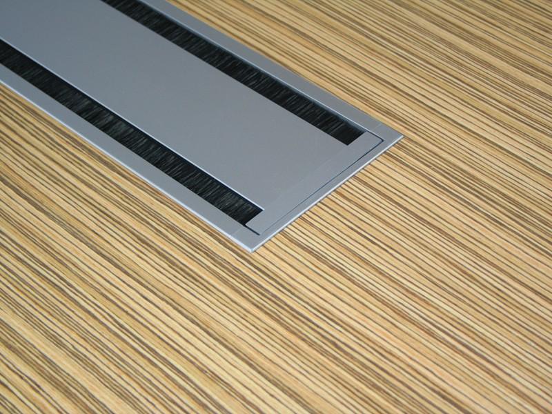 Design konferenztisch livorno xl zebrano bei jourtym g nstig for Konferenztisch design