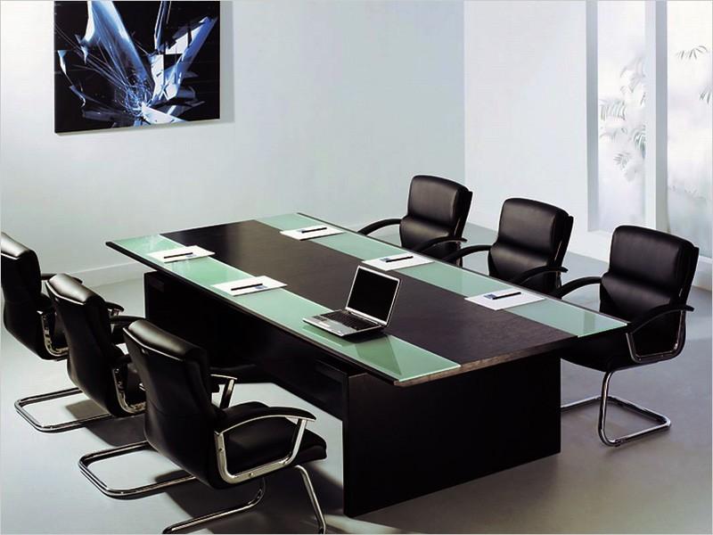 Design konferenztisch catania 2800 x 1300 mm und 6 st hle for Konferenztisch design