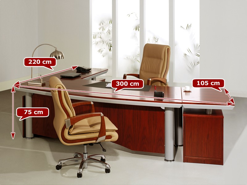 Chef Schreibtisch Büro Teramo Rechts