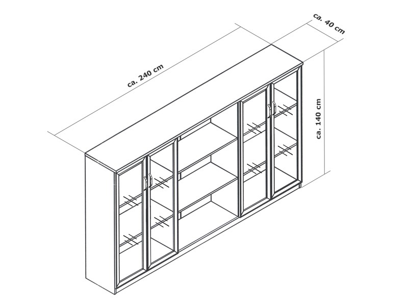 Chef Büro | Büromöbel Schreibtisch Winkelkombination
