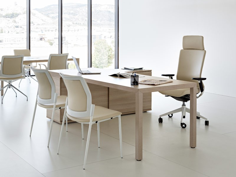 chefzimmer schreibtisch prisma mit sideboard kaufen bei. Black Bedroom Furniture Sets. Home Design Ideas