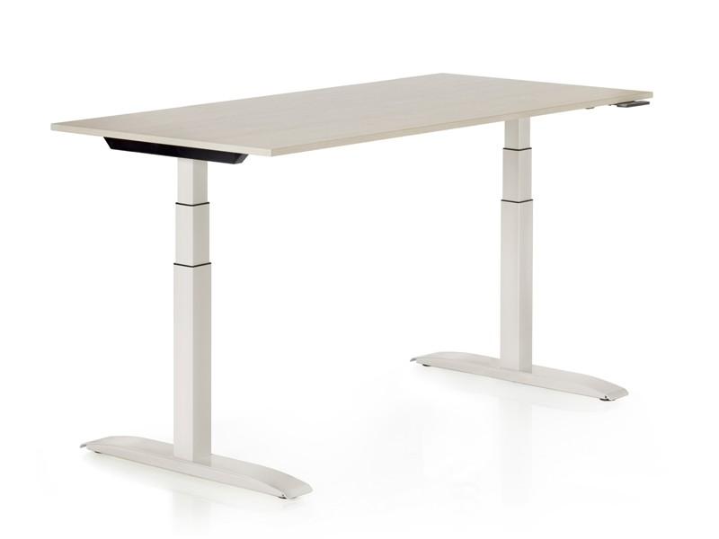 Schreibtisch 160x80 höhenverstellbar | JourTym Büromöbel