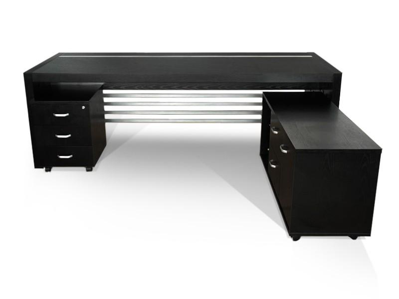 Schreibtisch kombination tisch sideboard prato g nstig for Schreibtisch 200x100