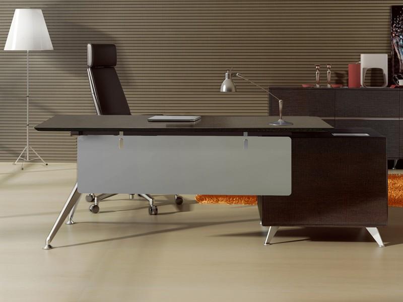 Design chef schreibtisch livorno l eiche for Schreibtisch chef