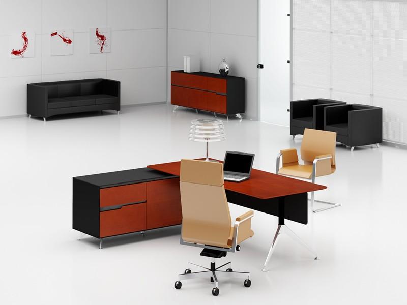 Schreibtisch livorno xl kirsche links for Schreibtisch xl