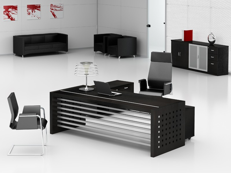 schreibtisch rollcontainer chef b rotisch prato g nstig. Black Bedroom Furniture Sets. Home Design Ideas