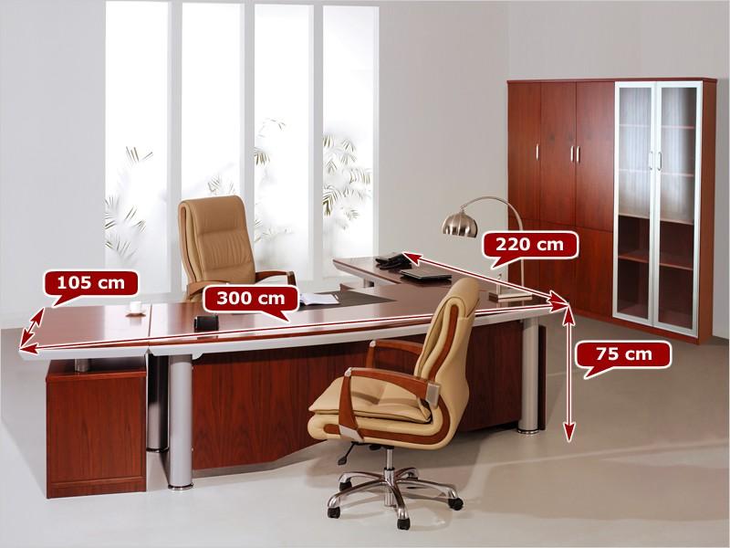 eckschreibtische schreibtisch eck g nstig online kaufen. Black Bedroom Furniture Sets. Home Design Ideas