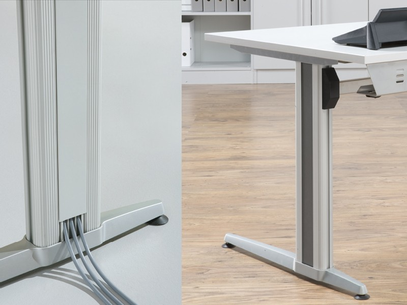 schreibtisch hammerbacher vxs08 ergonomic aktiv xs serie. Black Bedroom Furniture Sets. Home Design Ideas
