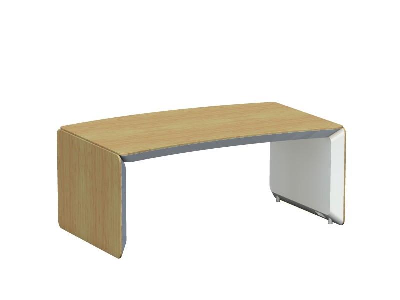 Designschreibtisch erange for Schreibtisch abgerundet
