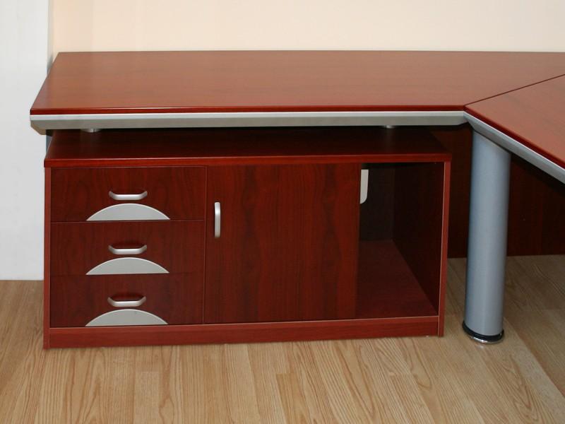 echtholz schreibtisch eckschreibtisch walnuss g nstig. Black Bedroom Furniture Sets. Home Design Ideas