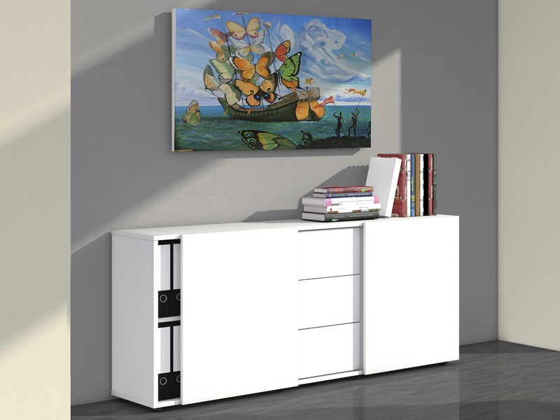 sideboard schiebet ren schubladen kerkmann 4487. Black Bedroom Furniture Sets. Home Design Ideas