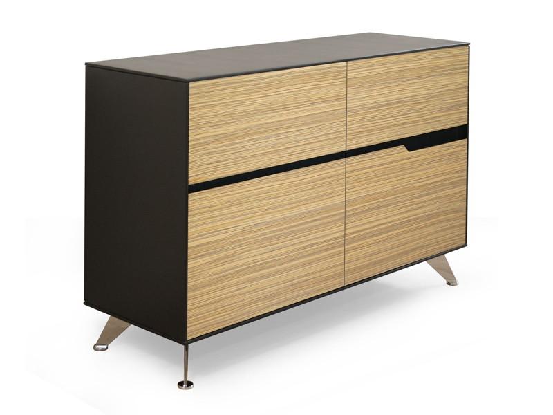Aktenschrank design  Büromöbel Schreibtisch Livorno XL Zebrano links bei JourTym kaufen