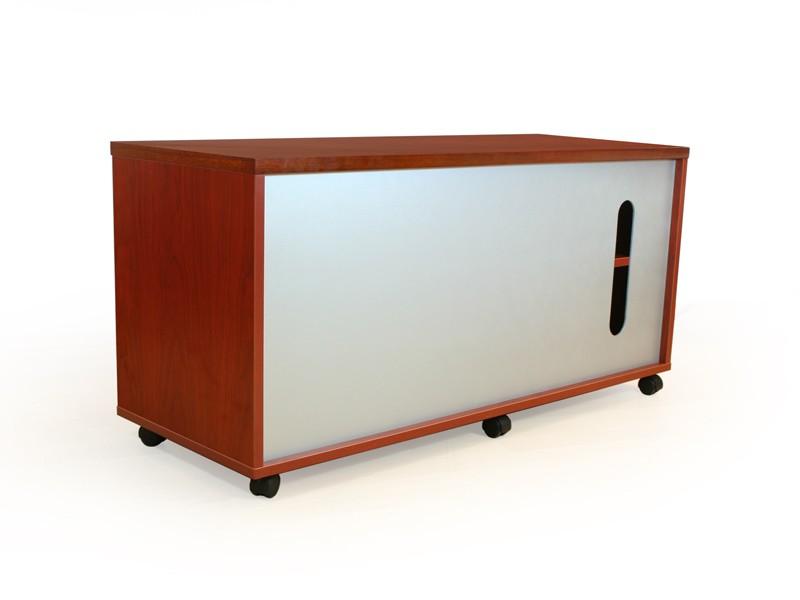 Büromöbel Komplettset | Schreibtisch mit Aktenschrank
