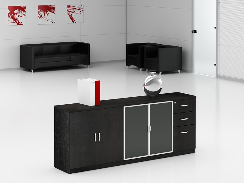 sideboard schwarz b rosideboard g nstig online kaufen. Black Bedroom Furniture Sets. Home Design Ideas