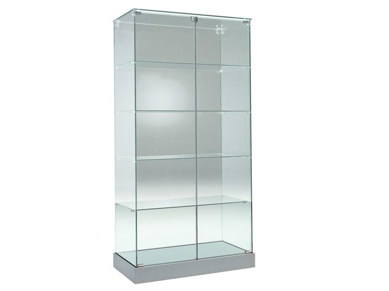 standvitrine glas g nstig bei online kaufen. Black Bedroom Furniture Sets. Home Design Ideas