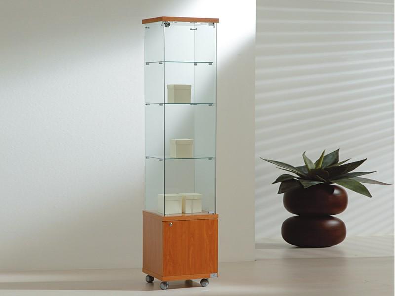 standvitrine abschlie bar im online shop von. Black Bedroom Furniture Sets. Home Design Ideas