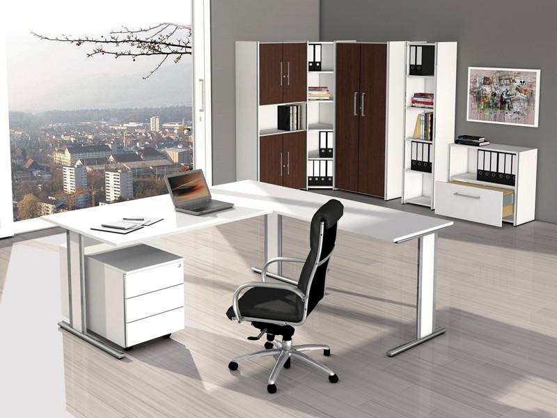 anbau schreibtisch tisch gestell edelstahl aveto 4502 1. Black Bedroom Furniture Sets. Home Design Ideas