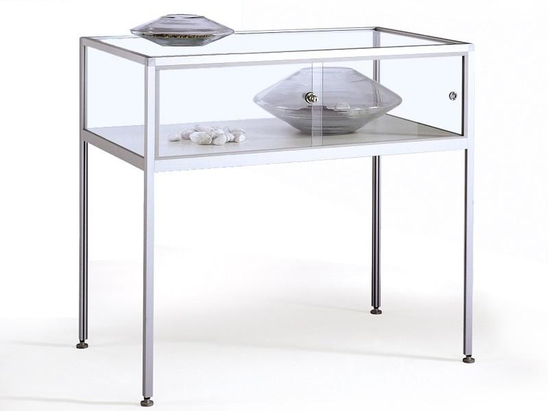 Tischvitrine-glasvitrine-aluminium-nice-