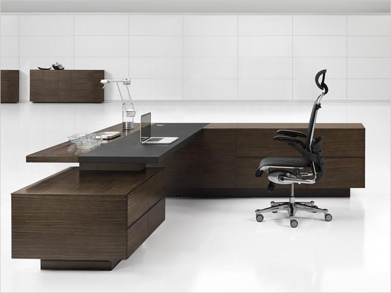 Design Büromöbel Ancona Zebrano