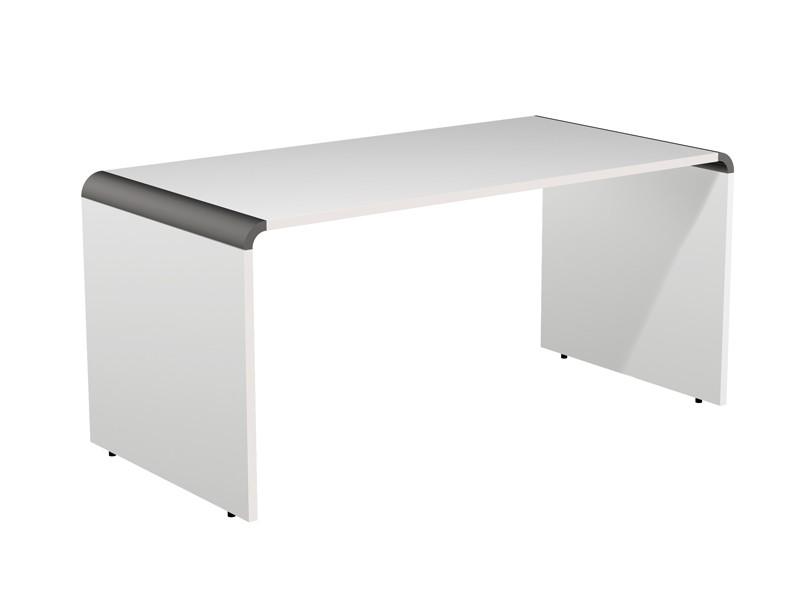 eckschreibtisch modus kerkmann lichtgrau wei mit rollcontainer. Black Bedroom Furniture Sets. Home Design Ideas