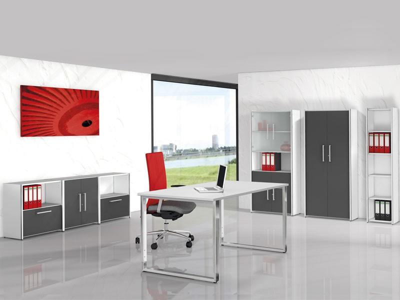 Büromöbel System Aveto Edelstahl günstig online kaufen
