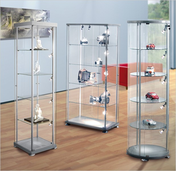 design vitrine rundvitrine. Black Bedroom Furniture Sets. Home Design Ideas