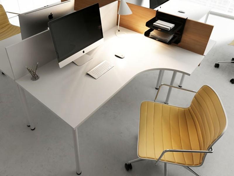 Eckschreibtisch Opty 1800x1200 Mm Schreibtisch Winkelkombination