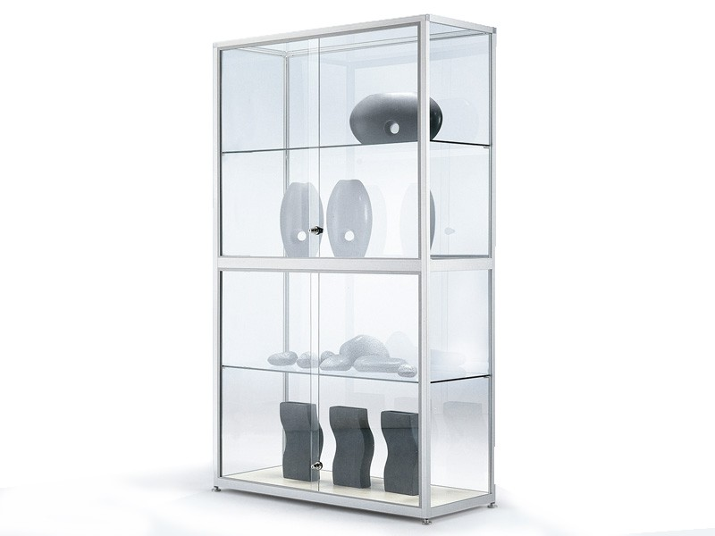glasvitrine abschlie bar jourtym b rom bel. Black Bedroom Furniture Sets. Home Design Ideas