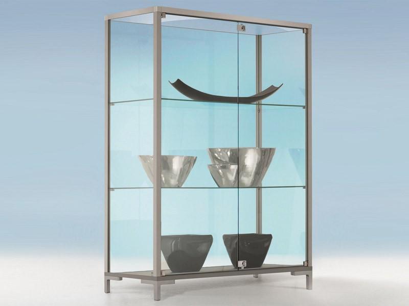 glasvitrine link v8013 g nstig jourtym b rom bel. Black Bedroom Furniture Sets. Home Design Ideas
