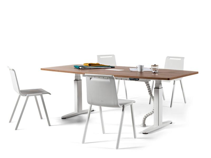 Mobility h henverstellbarer schreibtisch 200x100 cm for Schreibtisch 200x100