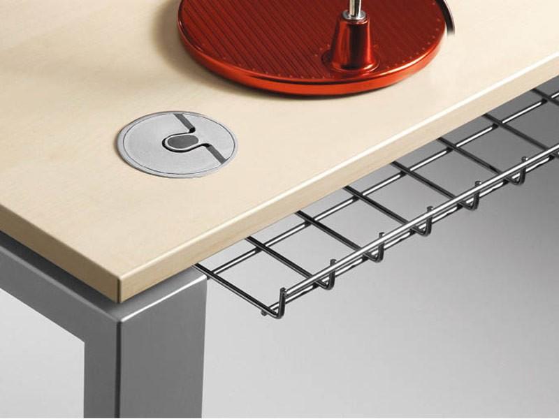 Schreibtisch Loopy mit Sideboard konfigurieren JourTym