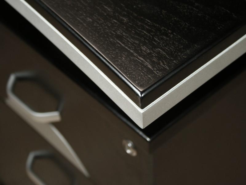 eckschreibtisch schwarz schreibtisch lang online kaufen. Black Bedroom Furniture Sets. Home Design Ideas