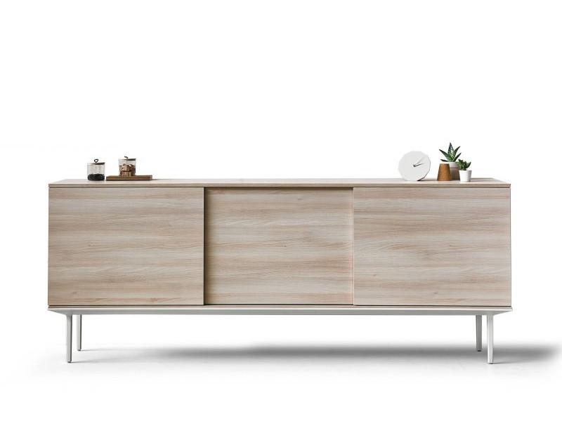 sideboard longo schiebet ren. Black Bedroom Furniture Sets. Home Design Ideas